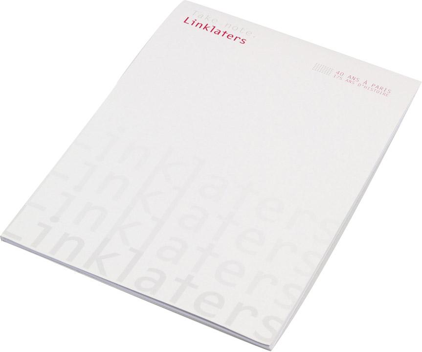 impression bloc notes 210x297 format 210x297 kelprint. Black Bedroom Furniture Sets. Home Design Ideas